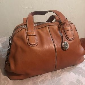 MICHAEL Michael Kors Leather Brown Tote